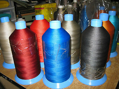 """TERRIER"" Polyester Outdoor Sewing Thread. M20 3000mtrs, canvas, Gazebos, UV,"