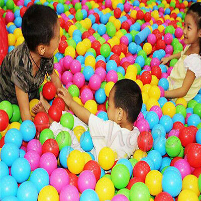 10-50pcs Colorful Outdoor/Indoor Kids Ocean Ball Pit Pool Game Play Children Toy