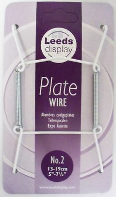 """Plate Hanger Wire Plate Size 5"""" to 7.5"""" No. 2"""