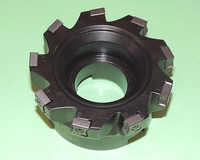 "NEW ISCAR TANGMILL 4"" Indexable Face Mill w/ Inserts (F90LN D4.00-09-1.50-L-N11)"
