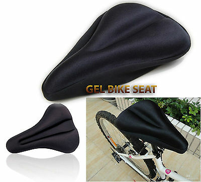 Brand New Bicycle Extra Comfort Cushion Cover Bike Gel Pad For Saddle Seat Comfy