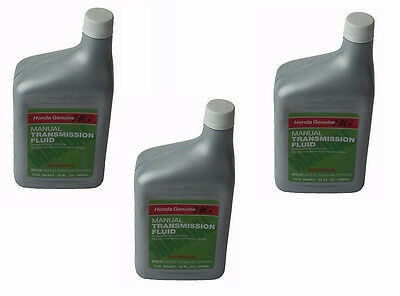 3-Quarts Genuine Honda Manual Transmission Fluid MTF