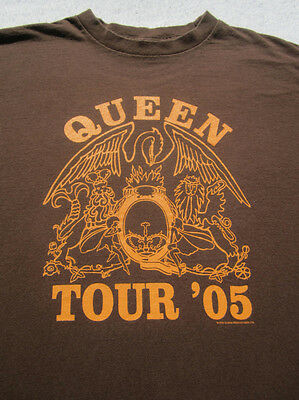 QUEEN 2005 tour MEDIUM concert T-SHIRT
