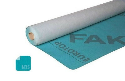 Fakro EUROTOP N35 Breather Air Permeable Roofing Roof Membrane 1m x 50m