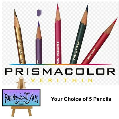 Prismacolor Verithin Colored Pencils - Your Choice of 5 Pencils