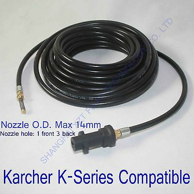 Karcher pressure washer drain cleaning hose(A13),sewer jetter hose,drain cleaner