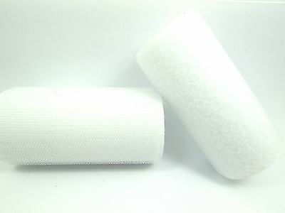 50CM / 1M / 2M x WHITE 100mm Width SEW On HOOK and LOOP Fastener Tape STRAP