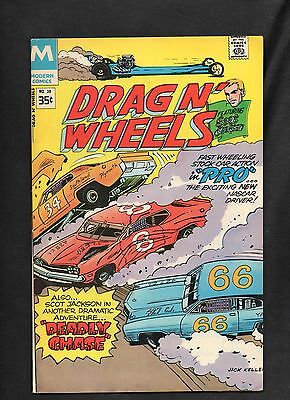 Drag N' Wheels  #58 Vg  1978 Modern Comics