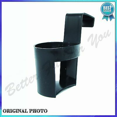 BLACK UNIVERSAL In Car Drinks Cup Bottle Can Holder Door Mount Cup Holder Stand
