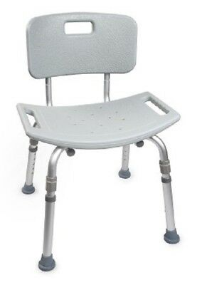 Drive Medical Adult Senior Shower Bath Chair With Back Support Heavy