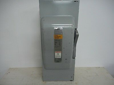 Ite Jn324 200 Amp 240V Fusible Indoor Disconnect Safety Switch Single Phase