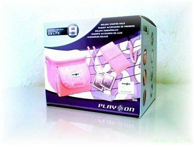 Nintendo DS Lite Deluxe Accessory Starter Pack PINK