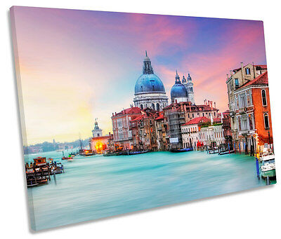 H293 Grand Canal Venice Italy Canvas Poster Wall Art Print Picture Framed