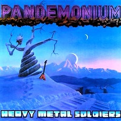 LP-Pandemonium ‎– Heavy Metal Soldiers-US 1983-SIGILLATO/SEALED
