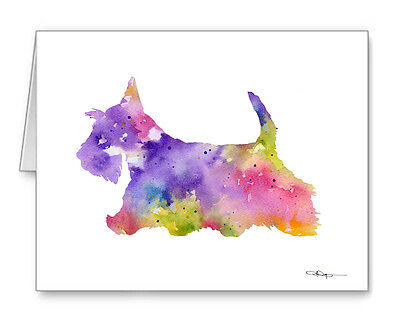SCOTTISH TERRIER Note Cards With Envelopes