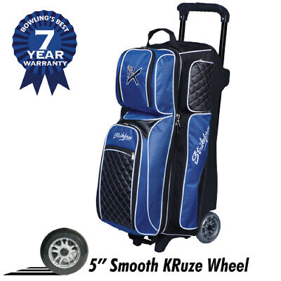 KR Strikeforce Royal Flush 3 Ball Roller Bowling Bag