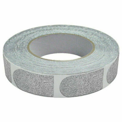 """Real Bowlers Tape Silver Tape 500 Count 1"""" Textured Bowlers Tape"""