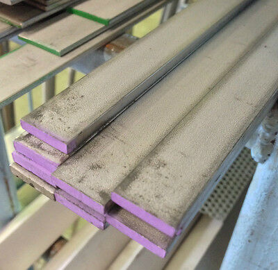STAINLESS STEEL FLAT BAR 50mm X 5mm X 300mm LONG