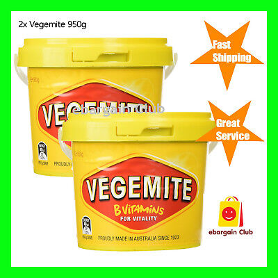 1.9kg Vegemite Sandwich Food Spread Australian Made (2x950g Tub) eBargainClub