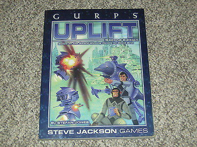 GURPS Uplift 2nd Edition (Gurps 3rd Edition) - #6035 - 2003