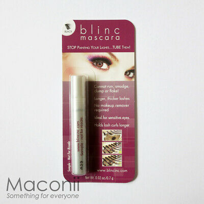 Blinc Mascara Black - No clump, smudge, or flake - Mini Sample Travel Size 0.7g