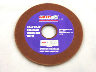 CHAINSAW SHARPENER REPLACE GRINDING WHEEL 4-1/4 x 1/8