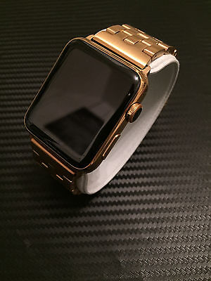 iWatch 24K Vergoldung vergoldet vergolden  Apple Watch  Gold  EDELSTAHL VERSION