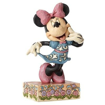 NEW OFFICIAL Disney Traditions Minnie Mouse Classic Figure / Figurine 4049638