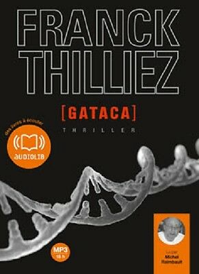 Po//31293/gataca Franck Thilliez Livre Audio 2 Cd Mp3 Duree 18H00 Neuf
