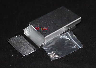 Silver Aluminum Enclosure Case Project electronic for PCB DIY 80*50*20mm