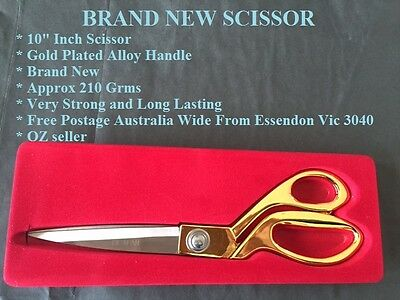 "9.5"" Scissor Tailor dressmaking sewing cutting trimming Brand new"