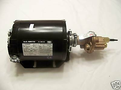 1/3 Hp Motor And Pump For Wvo / Biodiesel Centrifuge