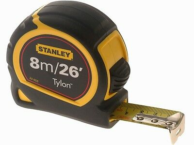 Stanley 1-30-656 Pocket Tape Measure 8m / 26ft (Width 25mm) STA130656N