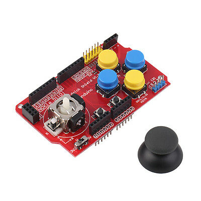 3.3-5V Gamepad Joystick Shield Module For Arduino Simulated Keyboard Mouse BA