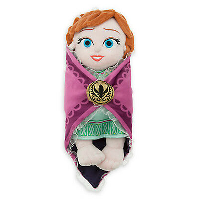 disney parks frozen baby anna with blanket plush new with tags