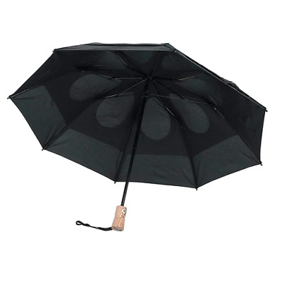 Gustbuster Metro Umbrella Black Automatic Open