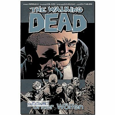 The Walking Dead 25 Unter Wölfen HORROR ZOMBIE COMIC 9783864254192 KANIBALEN LP