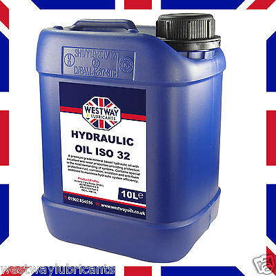 Hydraulic Oil ISO 32 Fluid 10L VG32 Westway High Grade 10 Litres DIN 51524