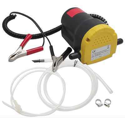 Wheels N Bits 12V 60W Oil Diesel Fluid Transfer Extractor Pump Electric Siphon