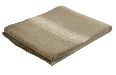 New Italian Army Style Woolen Blanket.fire Resistant Warm Durable Heavy Duty