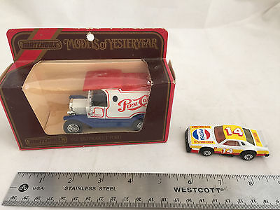 1984 Pepsi-Cola Models of Yesteryear Y-12 1912 Model T Ford and Challenger NP34