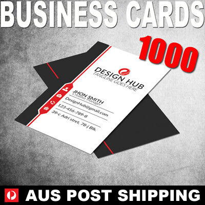 1000 Business Cards (FULL COLOUR) - 90x54mm - BC10002