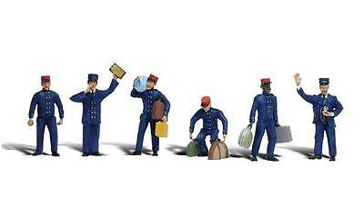 Woodland Scenics N Scale figures Train Personnel A2131    S235