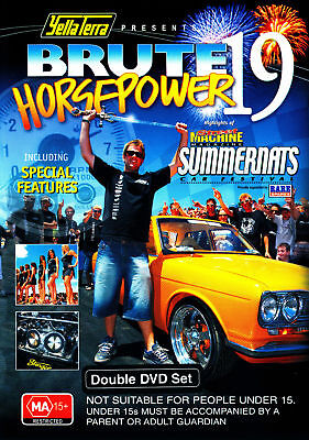 OFFICIAL Street Machine SUMMERNATS 19 DVD! Over 5 hrs!