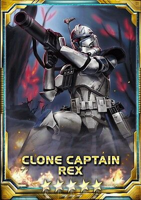 Star Wars Force Collection Clone Captain Rex  [Phase 2] 5 Star Base Guide