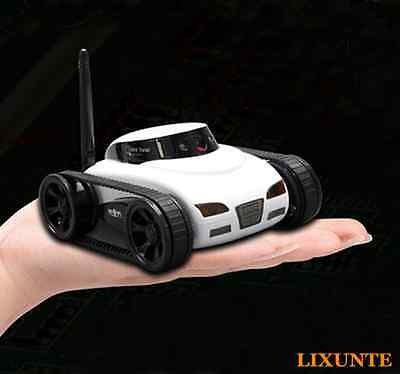 Wireless Wifi Remote Control Tank Car Vehicle with HD Camera By IOS Phone Pad