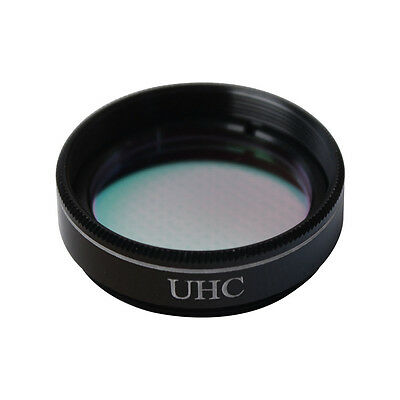 1.25 Inch UHC Light Pollution Reduction Telescope Filter Round Optical Glass