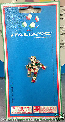 MERCHANDISING ITALIA 90 SPILLA SMALTATA UFFICIALE OFFICIAL enamelled pin brooch