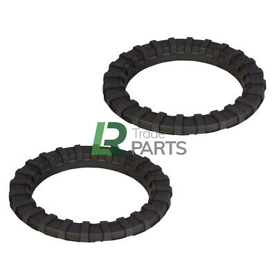 Land Rover Discovery 1, 2 & Rrc New Rear Coil Spring Isolator Rings X2 - Anr2938