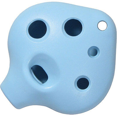 Atlas BLUE 6 Hole OCARINA! Heart Shape, Key of C. From Hobgoblin Music